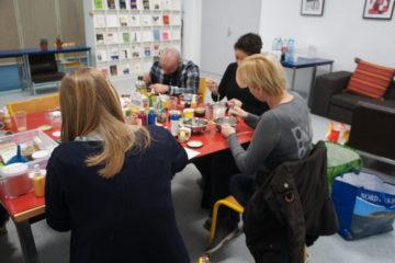 Association Takoda - photo de l'animation atelier cosmétiques naturels 2018