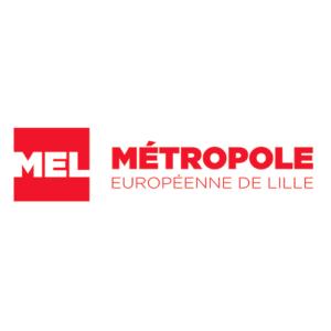 Logo partenaire MEL - Métropole Européenne de Lille