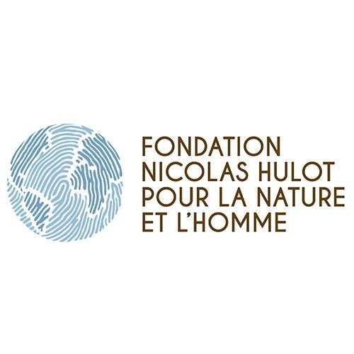 Logo de la Fondation Nicolas Hulot pour la nature et l'Homme - partenaire de l'association Takoda